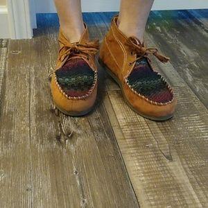 Sugar ✨ Boho style moccasin Shoes ~ 7.5